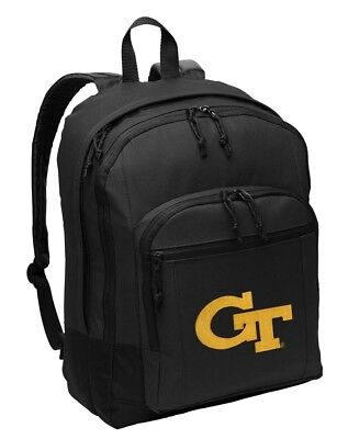 2 Sections! Broad Bay Georgia Tech Lunch Bag GT Yellow Jackets Lunch Box