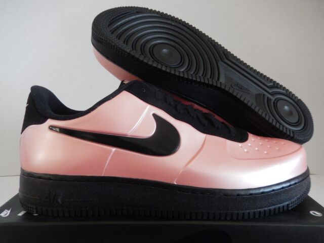 c9bbdaccaad12 Nike Air Force 1 Foamposite Pro Cup Men s Coral Black Aj3664 600 Size 8