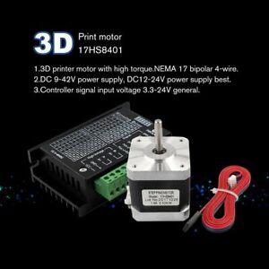 17HS8401-Nema-17-Stepper-Motor-42-Motor-1-3A-w-TB6600-Stepper-Motor-Driver-gZ