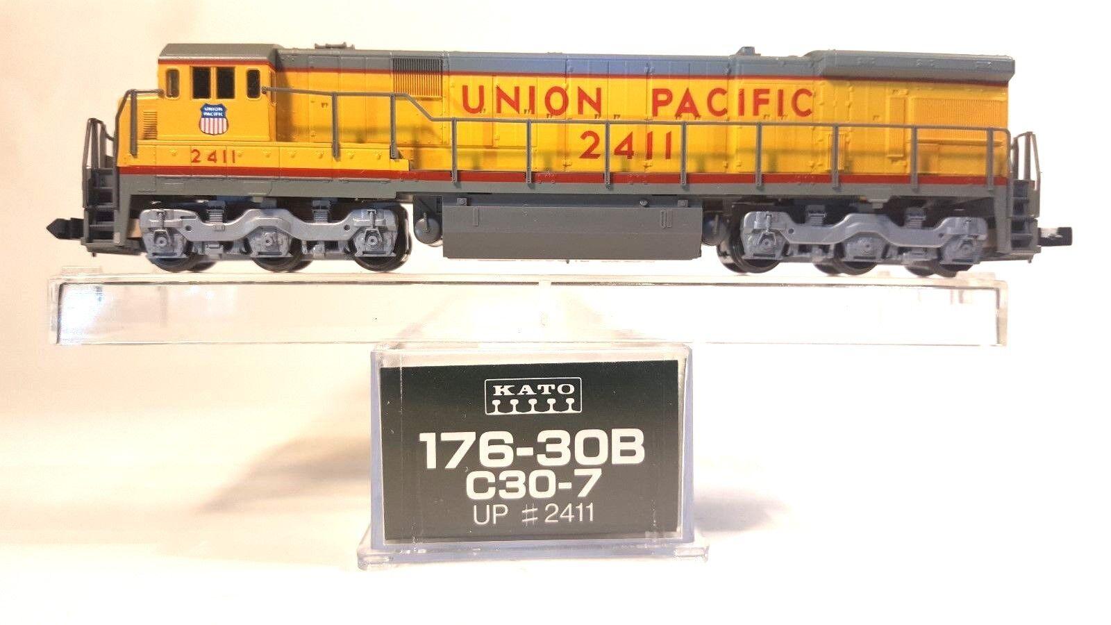 tienda de venta en línea N Kato 176-30B C30-7 Union Pacific Locomotora Locomotora Locomotora  2411 (probados)  mas preferencial