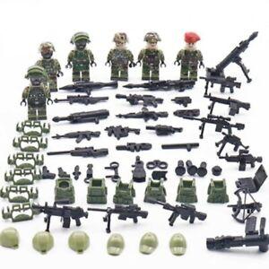 Lego-Swat-Police-Militaire-Intervention-Armee-Custom-Figurine-Jouet-Soldats