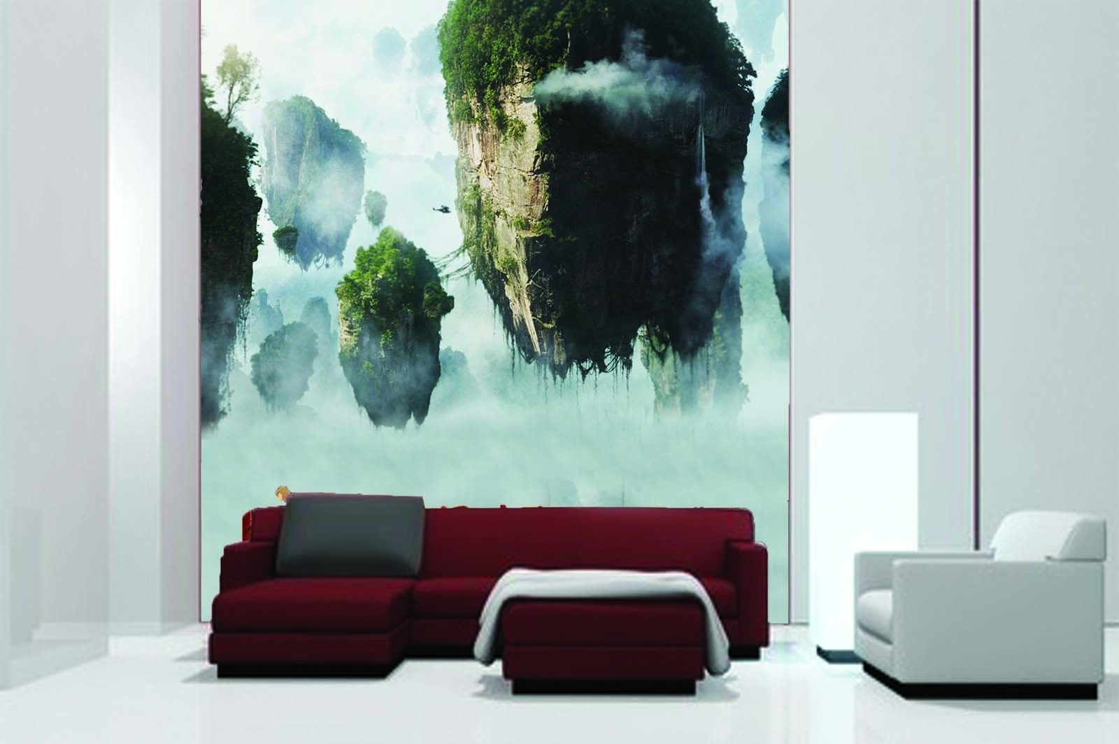 3D Hanging Sky Stone 46 Wall Paper Wall Print Decal Wall Deco Indoor Mural Carly