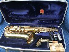 """1970 Conn Alto Saxophone """"Shooting Star """"Director"""" With original case mouthpiece"""