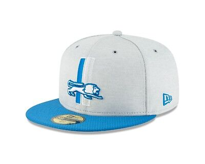 large discount to buy uk cheap sale Detroit Lions New Era 2018 NFL Sideline Home 59FIFTY Fitted Hat ...