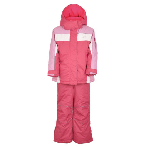SkiSnow Suit Set JacketPants Pink Red Size110 for girlskidschildren