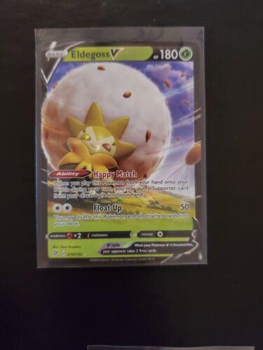 Eldegoss V 019//192 Pokemon Card Holo Rare Sword /& Shield Rebel Clash NM//M