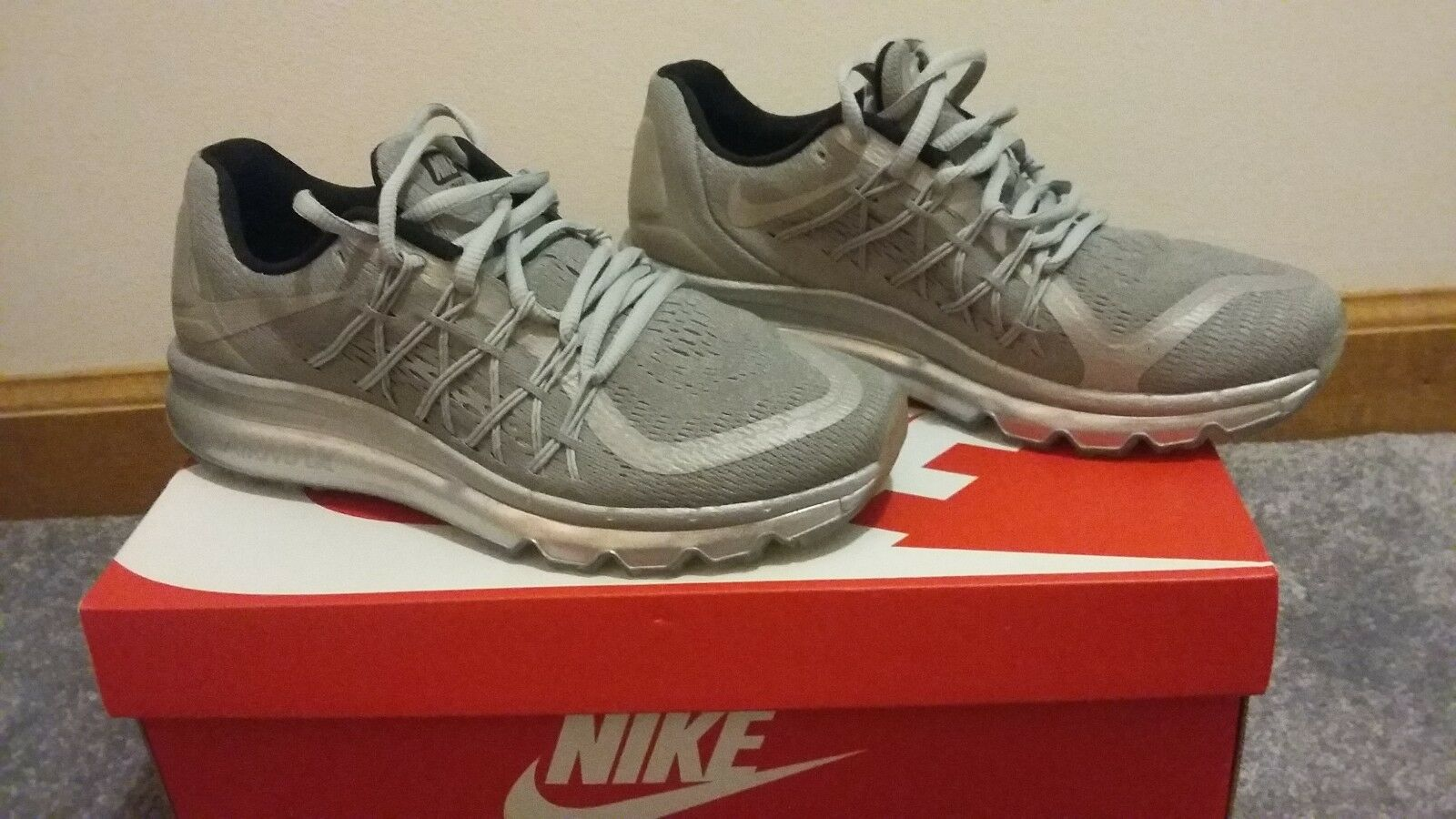 womens platinum air max size 8