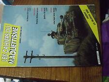 8µ? Revue Cahiers du Maquettisme n°5 Panzer IV Draisine Wickham Lotus super Seve