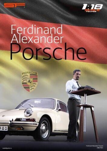 1//18 Konstrukteur /'Butzi/' Porsche von SF Scale Figures für CMC Autoart Exoto