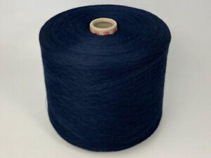 Häkeln Stricken #25 TVU Baumwolle Polyacryl Marine Garn Wolle Kone 1400gr