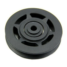 95mm Black Bearing Pulley Wheel Cable Gym Equipment Part Wearproof LW