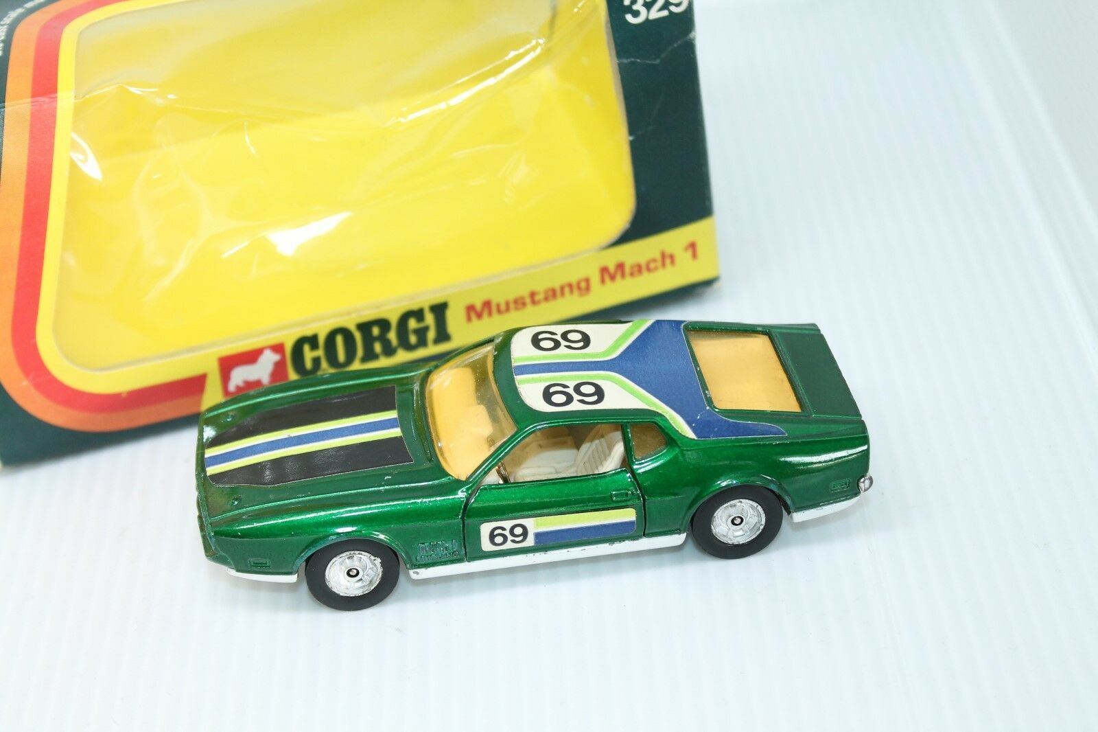CORGI TOYS  FORD MUSTANG MACH 1  1 43  TOP & OVP  | Starker Wert