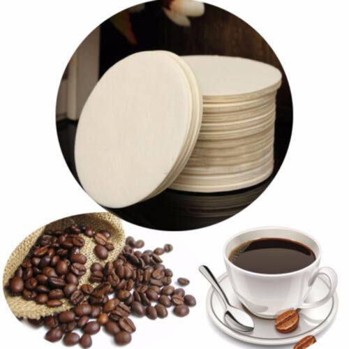 100Pcs Per Pack Coffee Maker Replacement Filters Paper For Aeropress White New