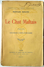 Rudyard Kipling : LE CHAT MALTAIS - 1908