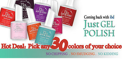 IBD Just Gel Polish - PICK ANY 3 colors ** Hot Deal ** Cheapest price!