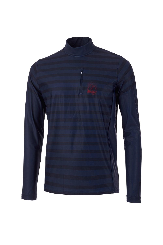 Maloja Multi Sport Shirt divertimentozione MAGLIETTA coosm. coosm. coosm. BLU asciuga rapidonnate 4d7