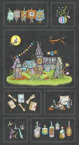 Halloween-Salem-Witch-Quilt-Show-Cotton-Fabric-Maywood-Studio-8349-J-24-034-Panel