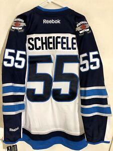 cheap for discount d51d4 6cefd Details about Reebok Premier NHL Jersey Winnipeg Jets Mark Scheifele White  sz S