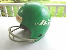 Vintage New York Jets  Rawlings Green Youth Football Helmet,  HNFL-N Medium
