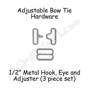 Bow Tie Clips 2 Sets