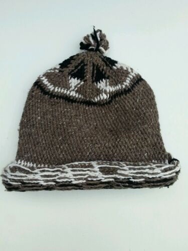 moroccan hand knitted wool hats.100/% hand knitted wool.made in morocco.one size