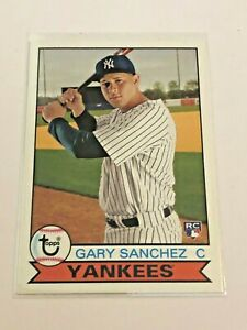 2016-Topps-Archives-Baseball-Rookie-Gary-Sanchez-RC-New-York-Yankees