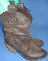 Women Rocket Dog Cowboy Western Boots Booties Size 6M