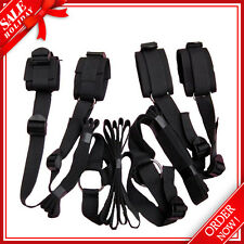 Sex Toys Adult Bed Restraints Handcuffs Set Hidden Bondage Fetish Wrists Ankles