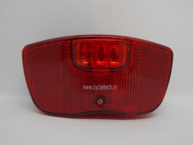 Smart Taillight Gepäckträger 80mm LED Rücklicht Rot