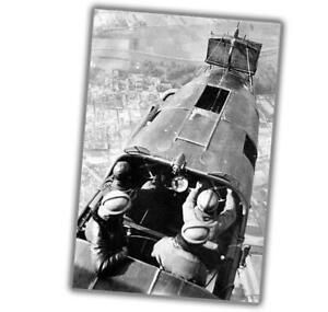 War-Zeppelin-Staaken-R-Photo-B-amp-W-Photo-WW2-Glossy-034-4-x-6-034-inch-U