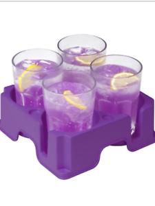 Caravan//Motorhome and Camping Mug CupAnd Glass Holder In Purple Muggi
