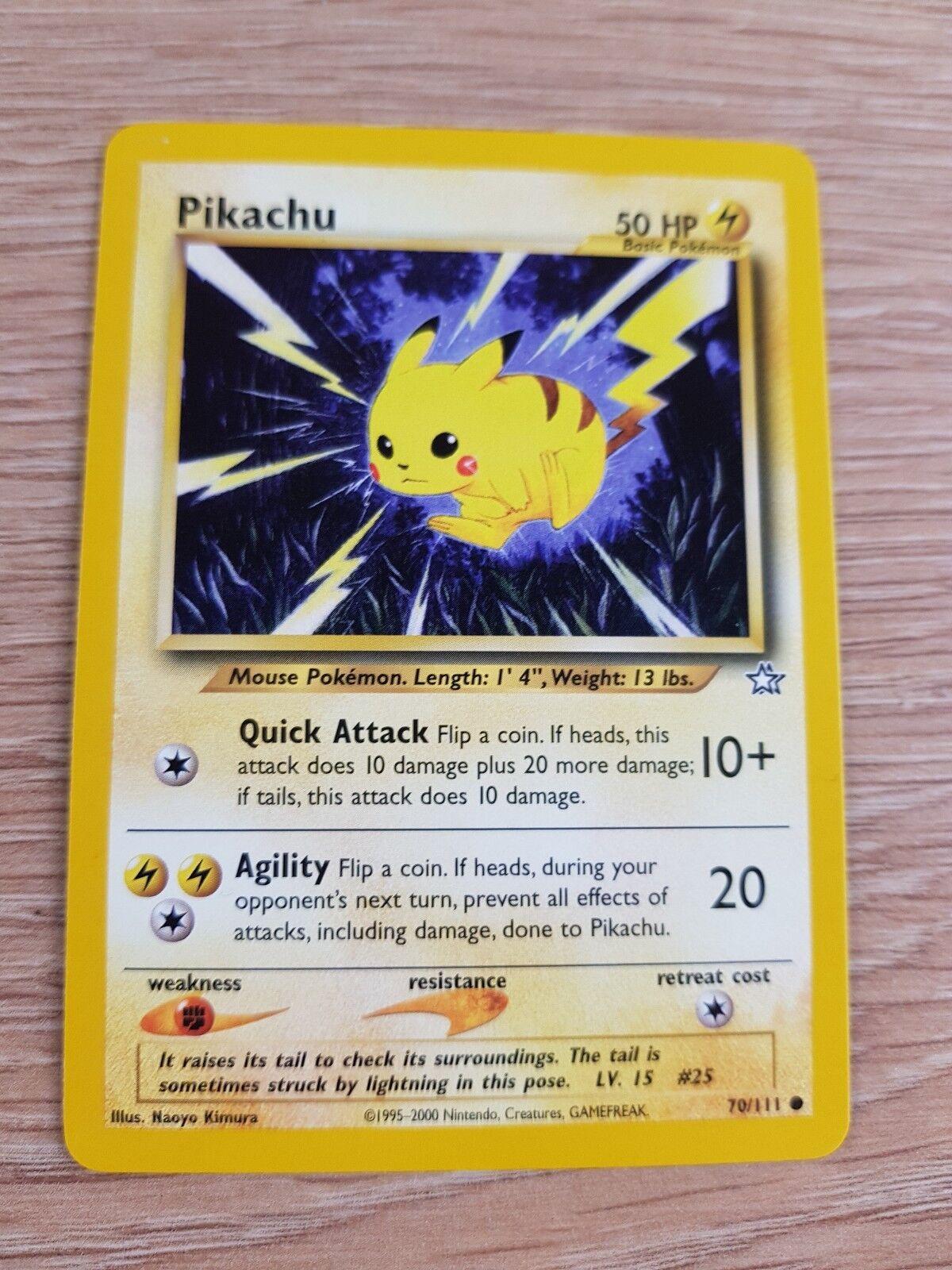 Pikachū - 70   111, 1. ausgabe des genesis psa 10 gem mint nicht holo - pokémon - karten