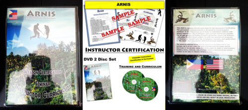 certification kali silat home study mma Arnis Martial Art Instructor Course