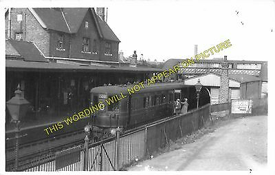 Feltham Hounslow Railway Station Photo Isleworth 4 Staines to Brentford.