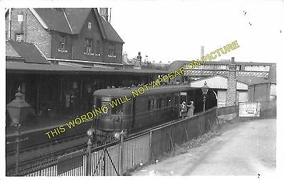 Feltham Hounslow Railway Station Photo Isleworth 4 Staines to Brentford.