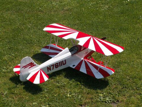 Giant 1/2 Scale Smith Miniplane Biplane Plans and Templates 88ws