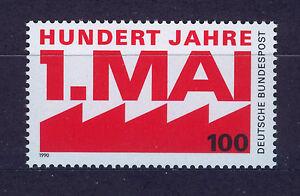 ALEMANIA-RFA-WEST-GERMANY-1990-MNH-SC-1599-Labor-Day