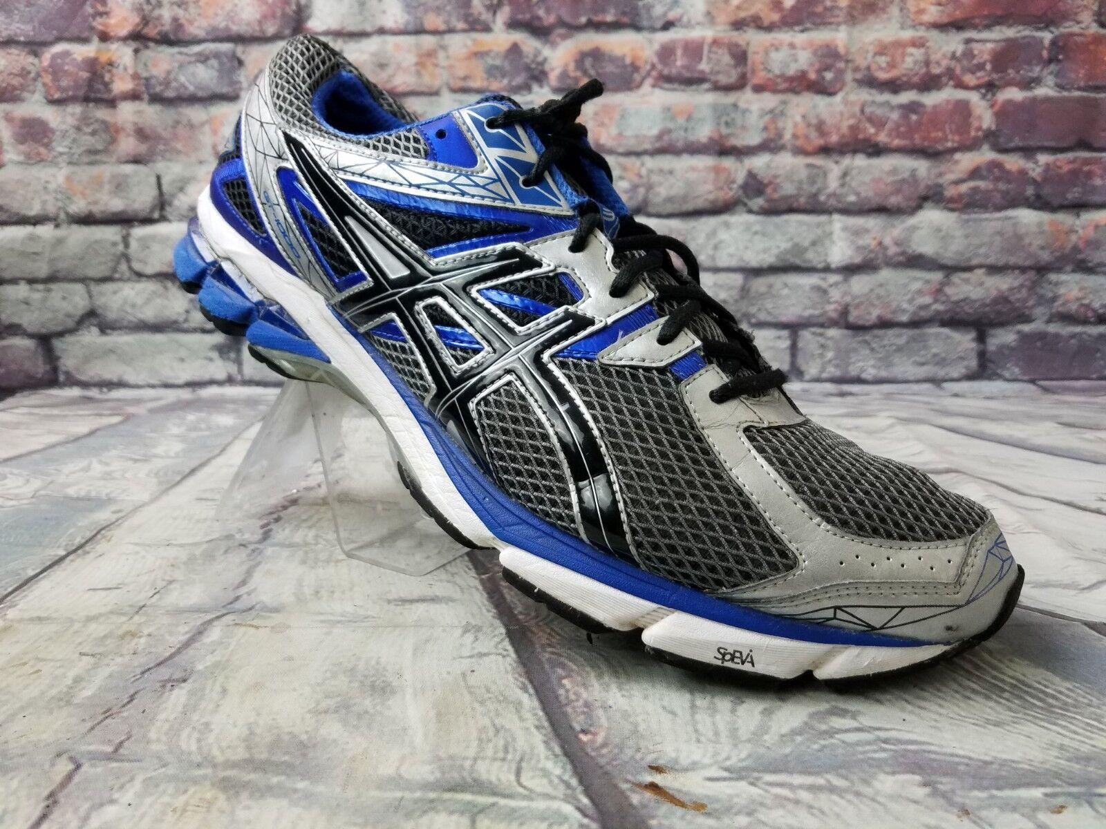 Asics GT 1000 3 Mens shoes T4K3N 9190 bluee Silver Black athletic Sz 15 M