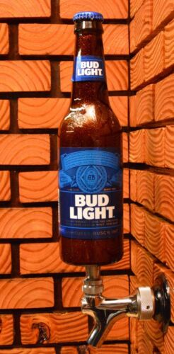 KEGERATOR or DISPLAY A COOL GIFT for MANCAVE BUD LIGHT BEER TAP HANDLE