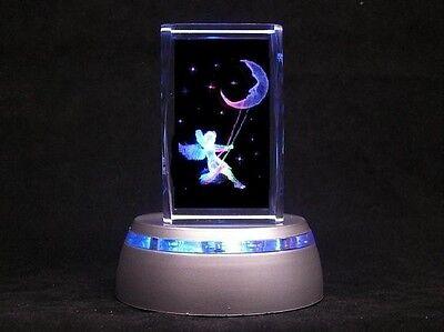 Moon Swing Fairy Baby Nursery Lamp / Child Night Light