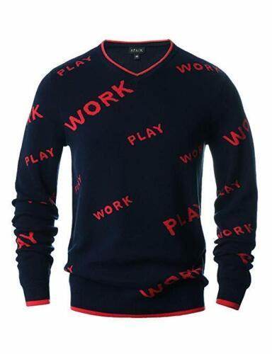 camiseta V Estilo punto de suave Cambed cuello con Suéter de Cardigan Algodón en diseño Nuevo hombre gCx1q4qw6