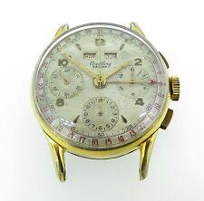 .Vintage 51 Breitling Datora Ref 785 mens Triple Calendar Chronograph wristwatch