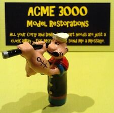 Popeye Paddle Wagon Corgi 802 Reproduction Repro Painted Popeye Figure