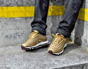 Details about NIKE AIR MAX 97 GOLD OG 884421 700 NEW IN BOX (NOT CR7) UK SIZES 5, 7, 8, 8.5, 9