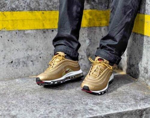 la Og 9 11 5 boîte Nike Uk 97 Cr7 7 10 pas Max tailles Air dans 8 nouvelle 6 Gold fTHTpI0wqx