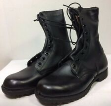 Post Vietnam Leather Combat Boots size 9W 1968' dated