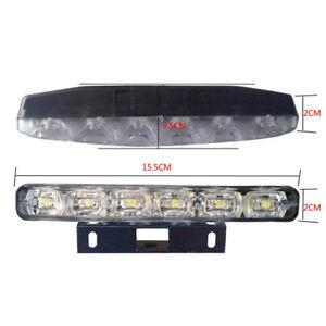 2Pcs-DRL-LED-Car-Daytime-Running-Light-6-LED-DC-12V-Auto-Light-Driving-Lamp-New