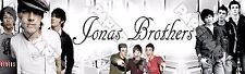 "The Jonas Brothers Poster Banner 30"" x 8.5"" Personalized Custom Name Printing"