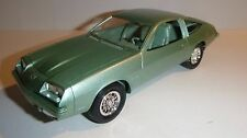 MPC 1978 Chevrolet MONZA 1/25 MODEL CAR MOUNTAIN PROMO MEDIUM GREEN