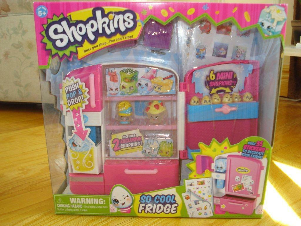 SHOPKINS    SO COOL FRIDGE PLAYSET New f6fc21